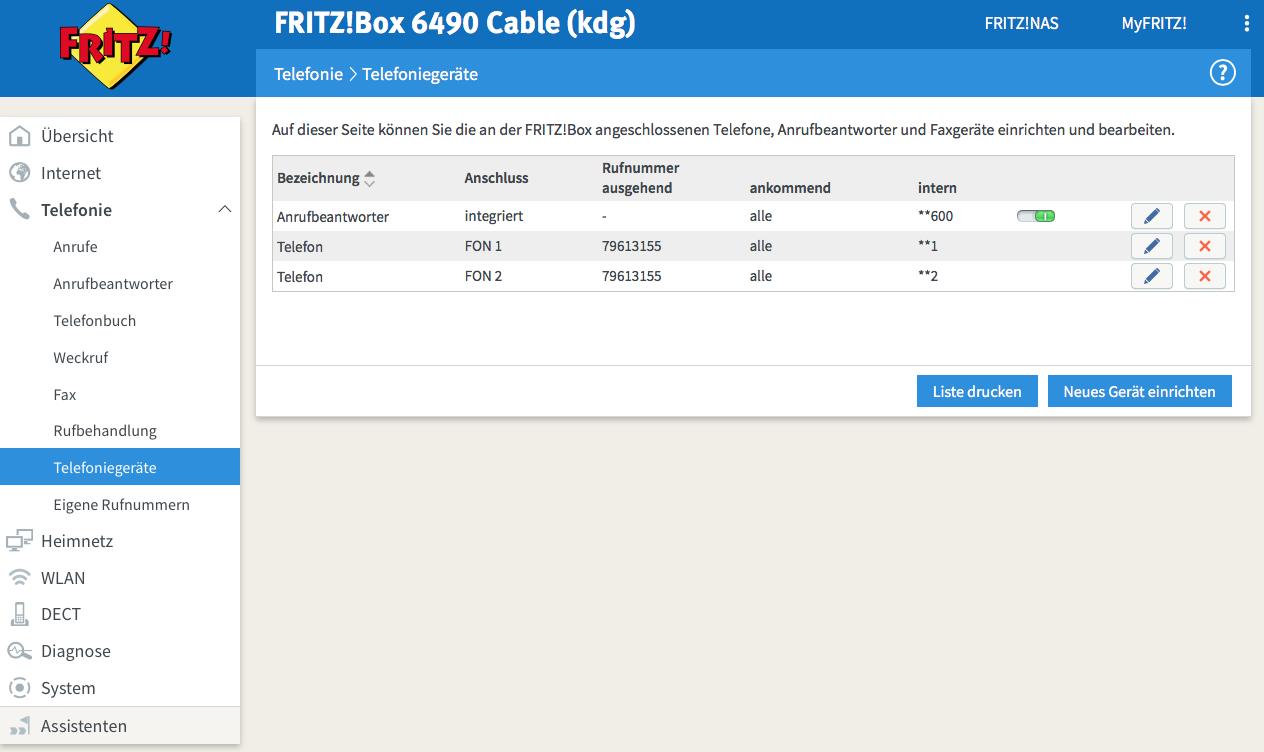 Anrufbeantworter Ansage auf Fritzbox einspielen